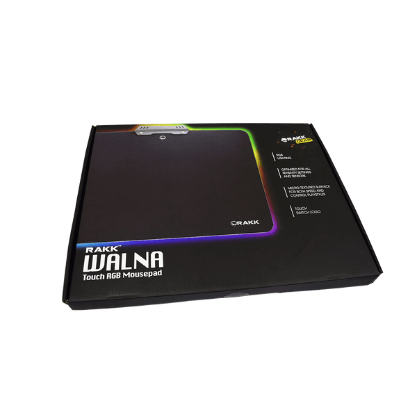 Rakk Walna RGB Mousepad Black
