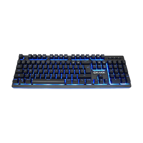 Rakk Mua Illuminated Plunger Gaming Keyboard Blue