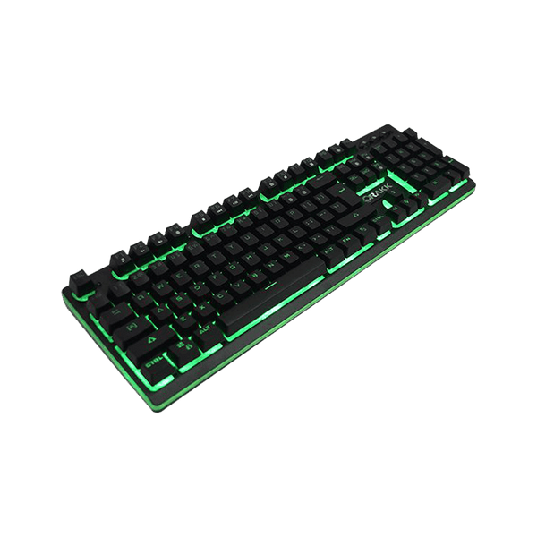 Rakk Mua Illuminated Plunger Gaming Keyboard Green