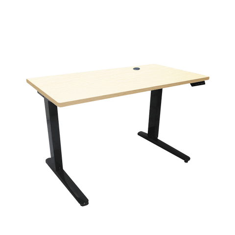 RAKK Lagip XL Adjustable with Memory Desk Beech