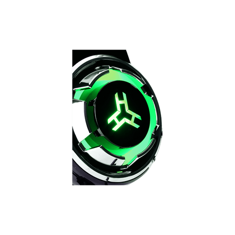 RAkk Karul Illuminated Gaming Headset Green Bulk