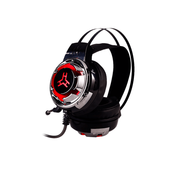 RAkk Karul Illuminated Gaming Headset Red Box