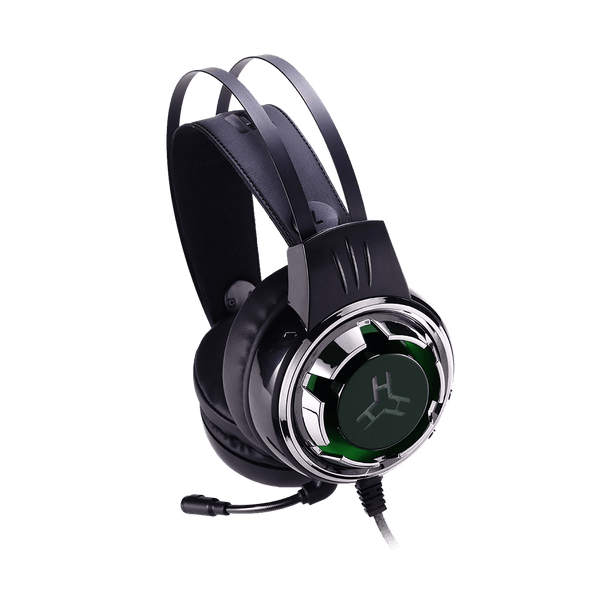 Rakk Karul Illuminated Gaming Headset Green Box