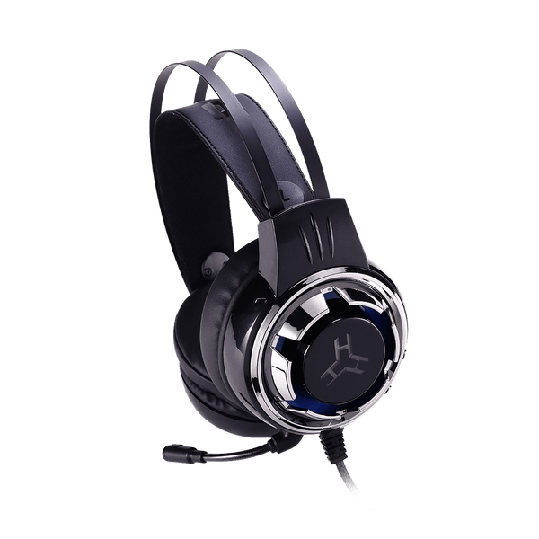 Rakk Karul Illuminated Gaming Headset Blue Box