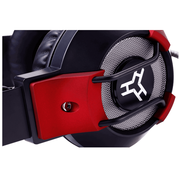 Rakk Guina Illuminated Gaming Headset Red Bulk