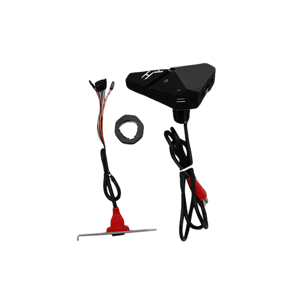 Rakk Switch V2 with Headset Stand Black