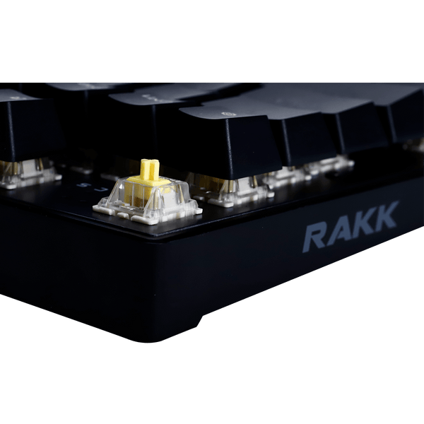 RAKK Ilis RGB Mechanical Keyboard Gateron Yellow