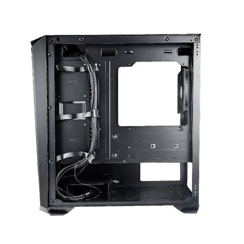 Rakk Haliya MATX Gaming Case Black