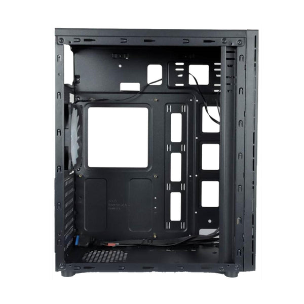 Rakk Siri Gaming ATX Case Black