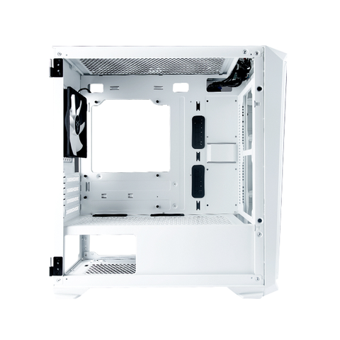 Rakk Haliya MATX Gaming Case White