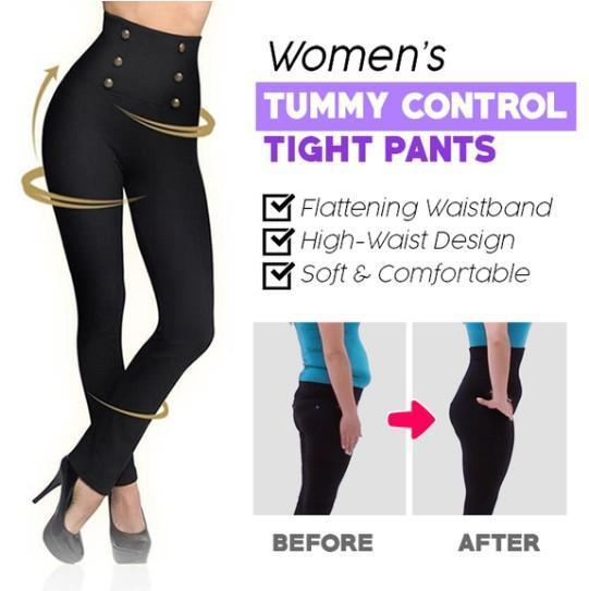 Roomy High Waist Pants: Slimming, Waist-Shaping Leggings