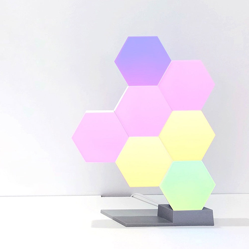 LifeSmart Cololight - Colourful Hexagon Table Lamp with Smartphone App Control