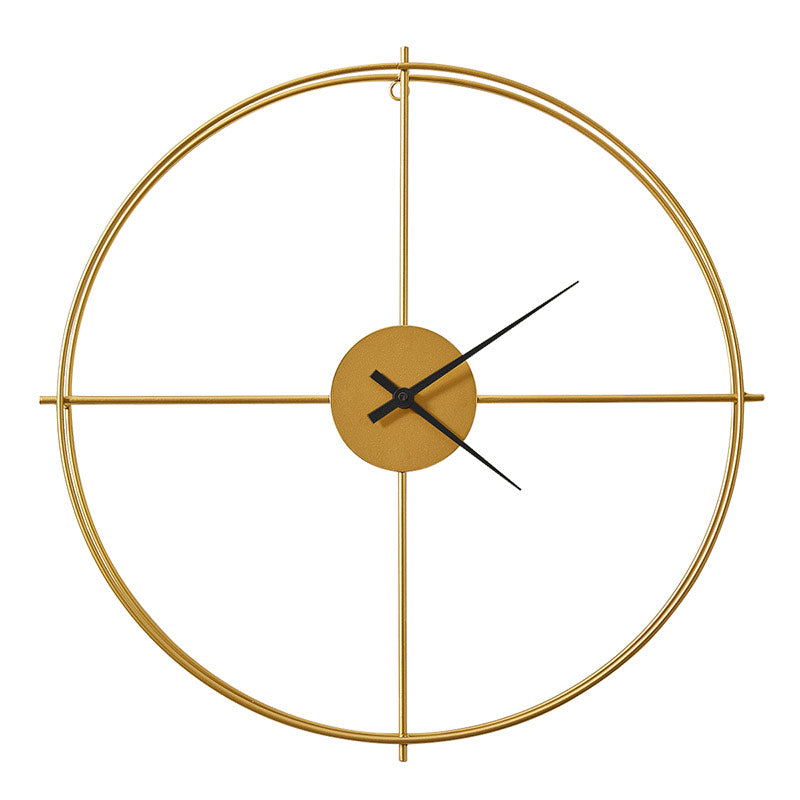 Wrought Iron Wall Clock