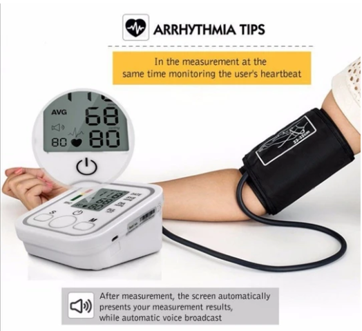 Digital Blood Pressure Monitor (100% High Quality)