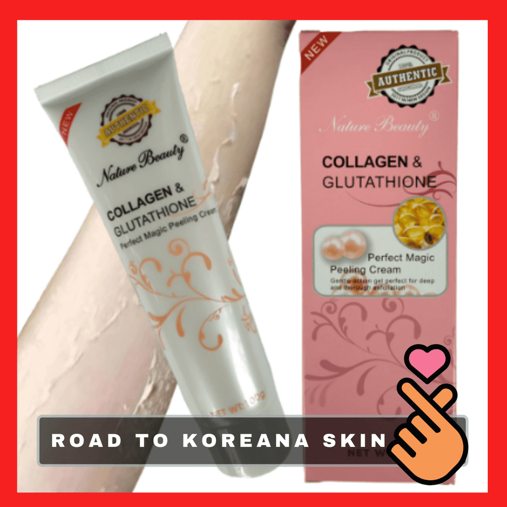 Premium Gluta & Collagen Peeling Cream [Grand Sale]