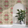 BUSH BOUQUET WALLPAPER - Cream