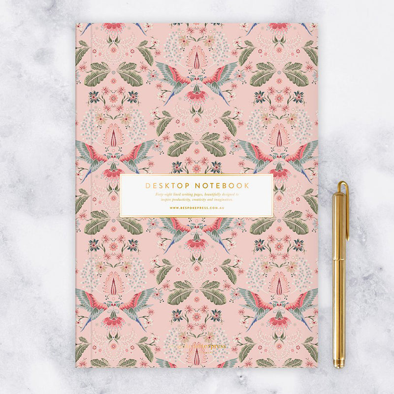Desktop Notebook - Lorikeets (Lined)