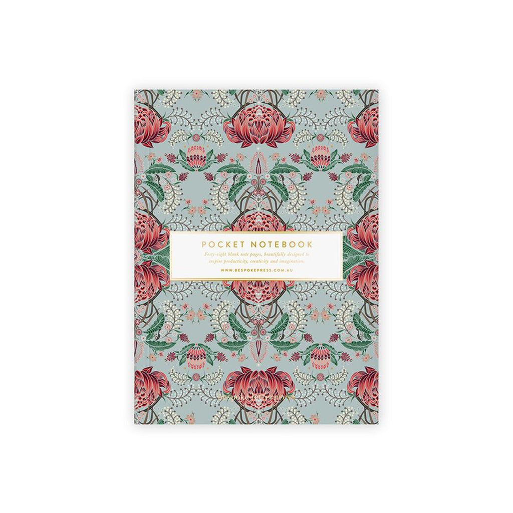 Pocket Notebook - Kaleidoflora (Blank)