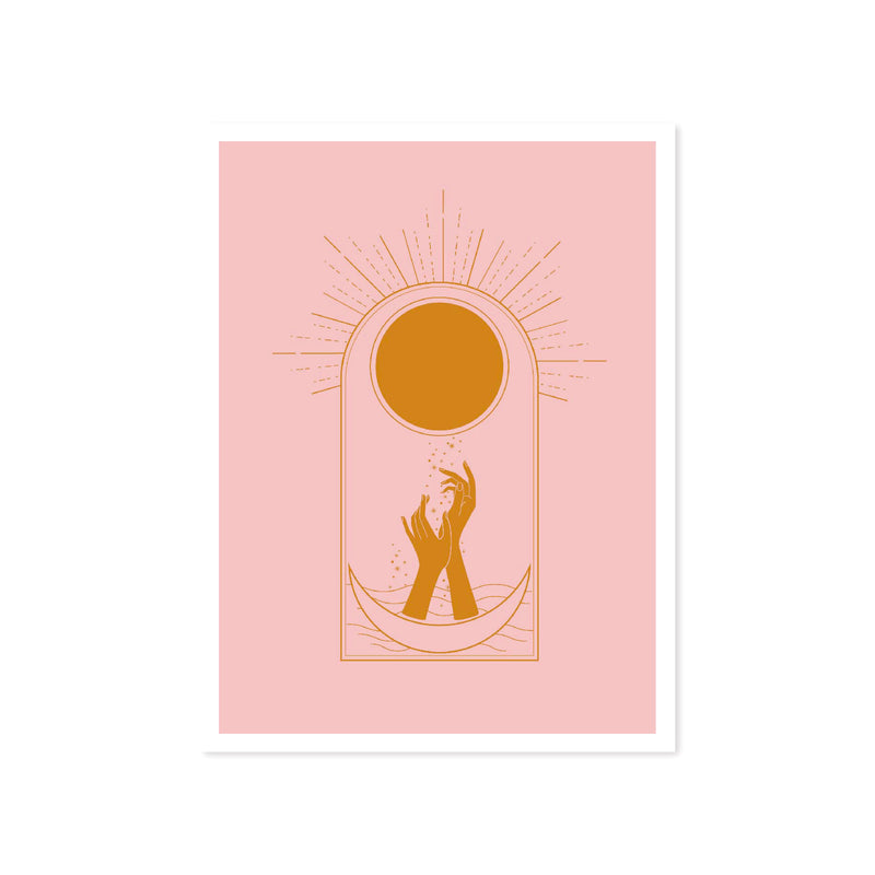 ART PRINT - LUMIERE SERIES - Sun Song by Seek Love Keep