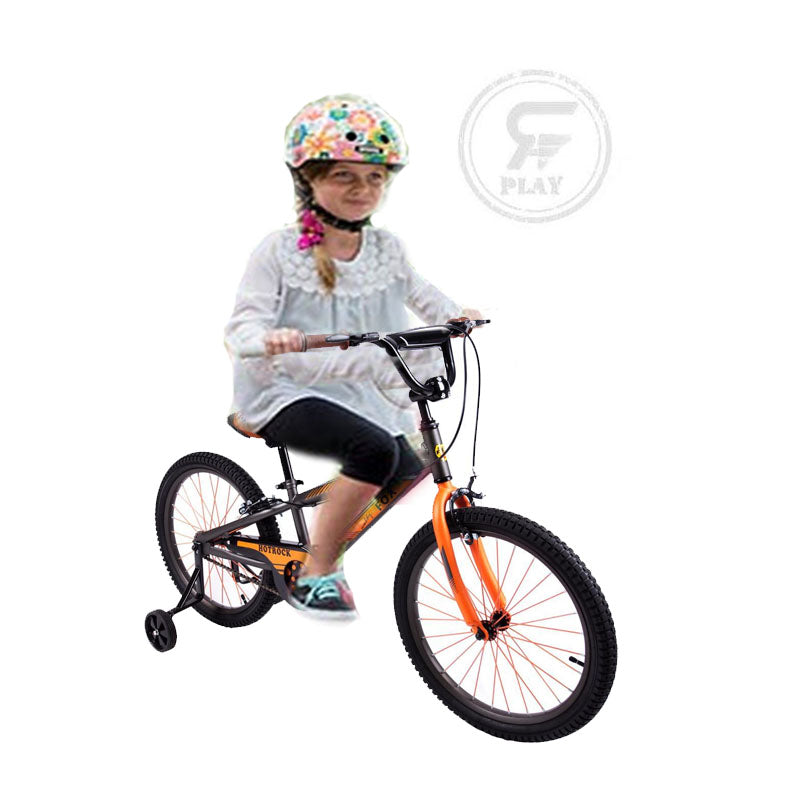 "MEGAWHEELS Rocky 20""/Dapper 16 inch JUNIOR Kids BIKE With Training wheels ASSORTED"