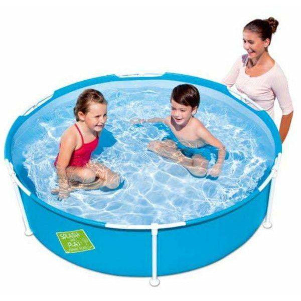 "Bestway 5' x 15""/1.52m x 38cm My First Frame Pool - rafplay"