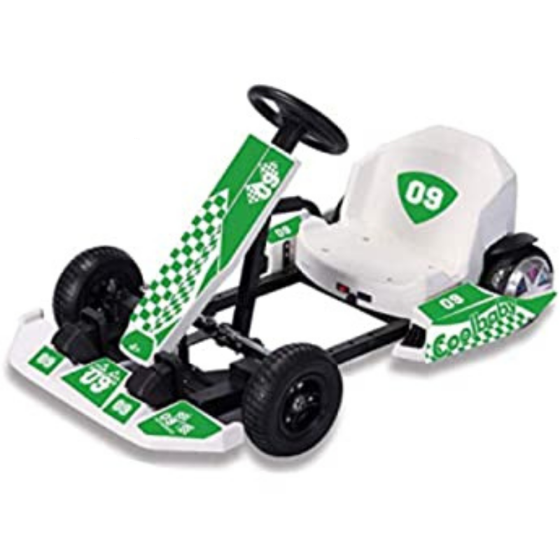 RAF Go-Kart Four-Wheel Drive Racing Car, Adult and Children Outdoor Riding Toy, Electric Four-Wheel Scooter