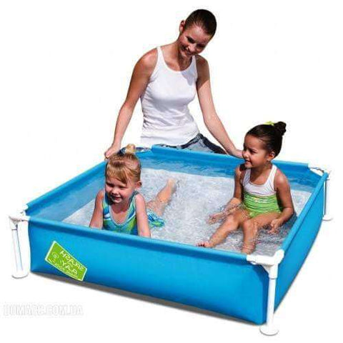 "Bestway My First Frame Pool 48"" x 48"" x 12""/1.22m x 1.22m x 30.5cm - rafplay"