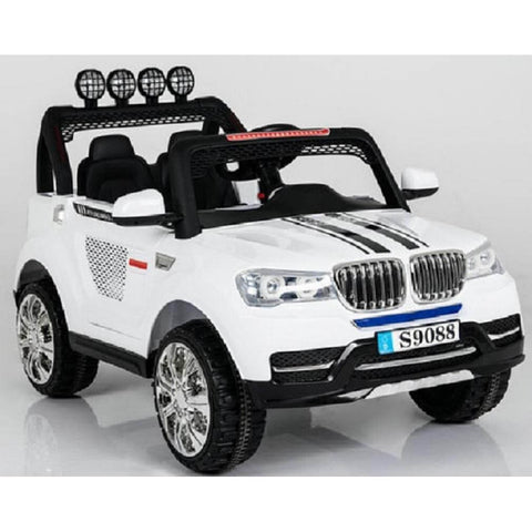 Ride On 12 V Bmw x5 style 2 seater sports Suv 4wd