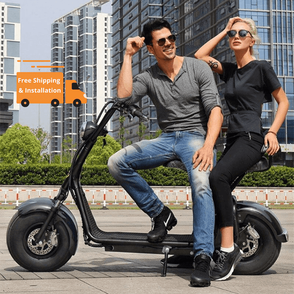 RAF Coco City Harley 60 v Fat Tyre Scooter