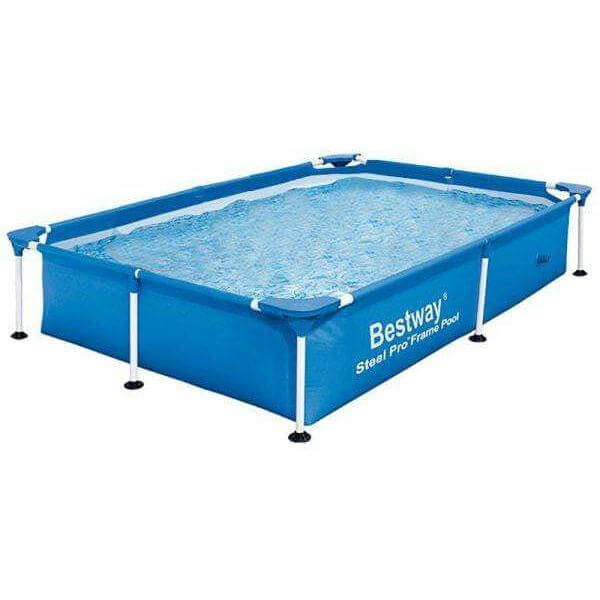 "Bestway 87"" x 59"" x 17""/2.21m x 1.50m x 43cm 1200L Splash Jr. Frame Pool - rafplay"