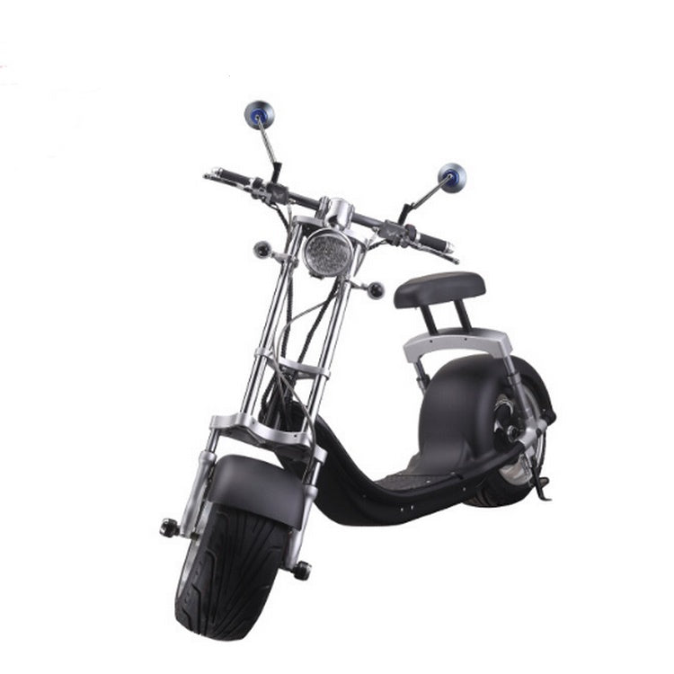 Henry Edward Fat Tyre coco Harley scooter 70kmph - Black