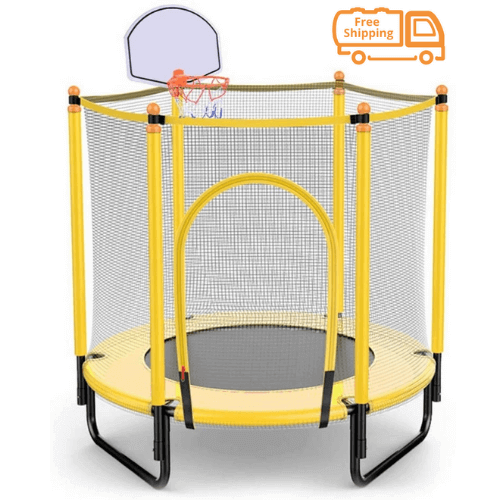 Megastar Dunk N Bounce 5 Ft Indoor Cum Outdoor Trampoline With Basketball