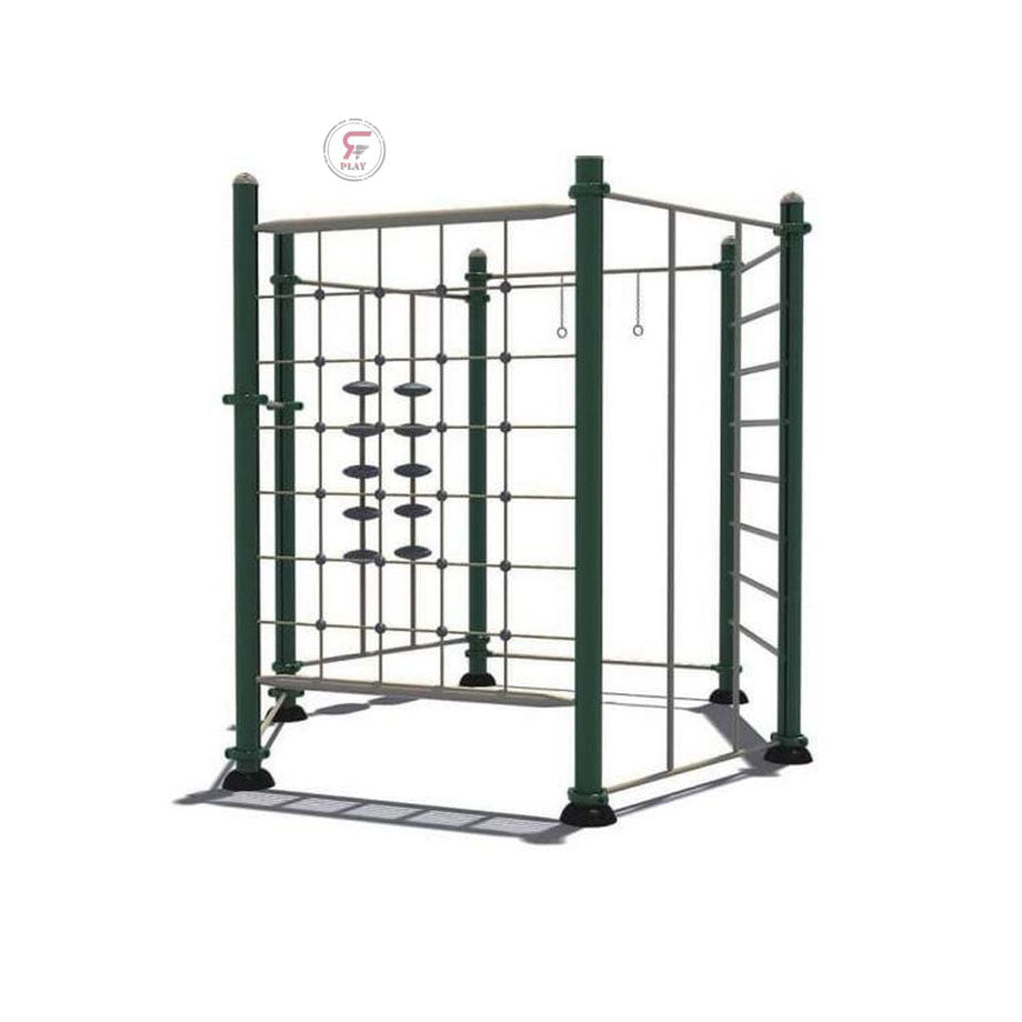 Raf Multi Gym Obstacles metal playset for kids amusement