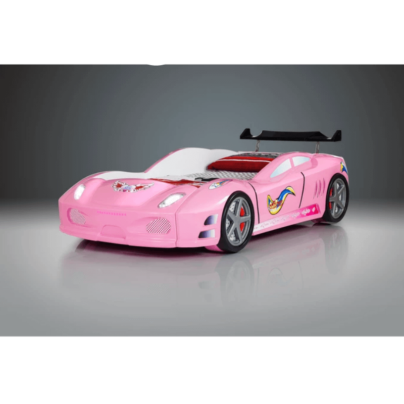 ENZO Car Bed - Pink