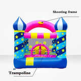 Megastar Inflatable Magical Stars Bouncy Castle House  Indoors / Outdoors Use