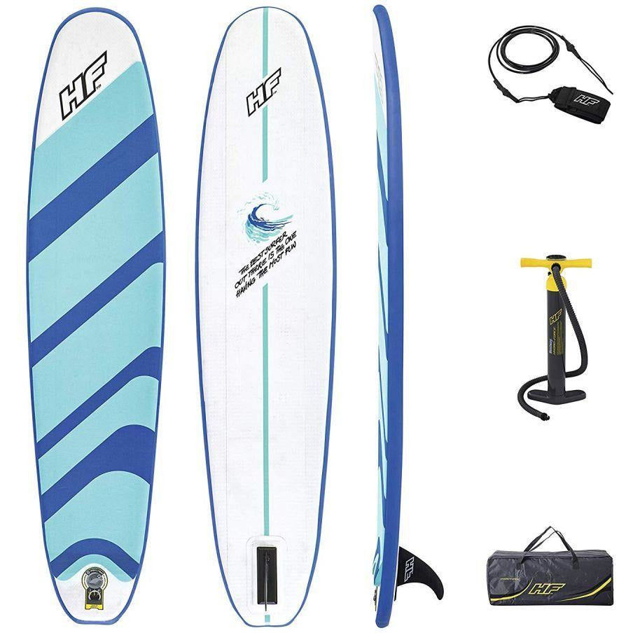 Bestway Hydro-Force 8ft Compact Inflatable Surf Board Set