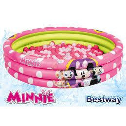 Bestway Minnie Mouse 3-Ring Ball Pit Play Pool