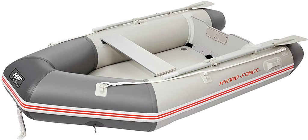 Bestway Hydro-Force Caspian Pro Sport Boat Set for 3 Adults and 1 Child, 280 x 152 x 42 cm