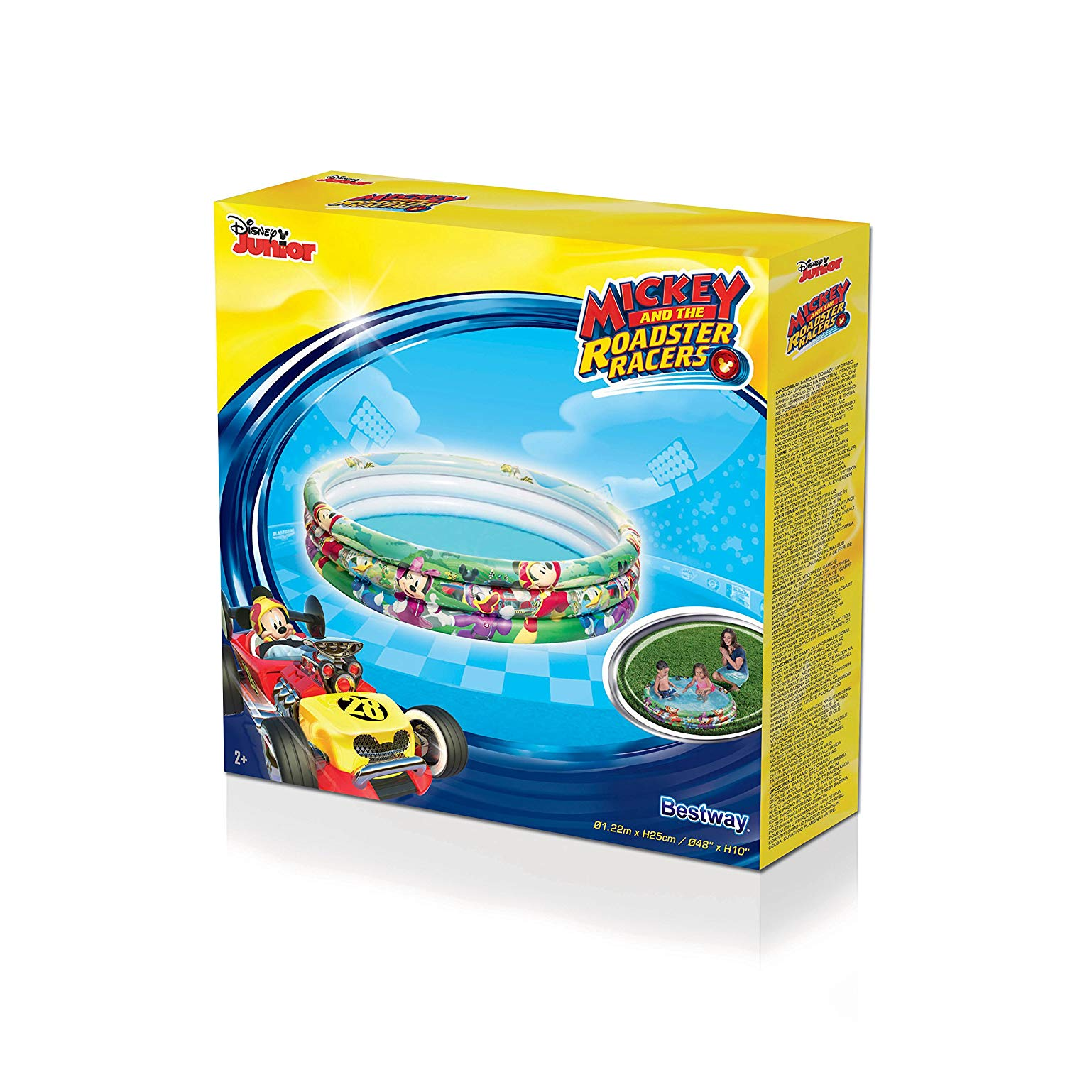 Bestway MICKEY 3 ring Inflatable Ball Pit Pool