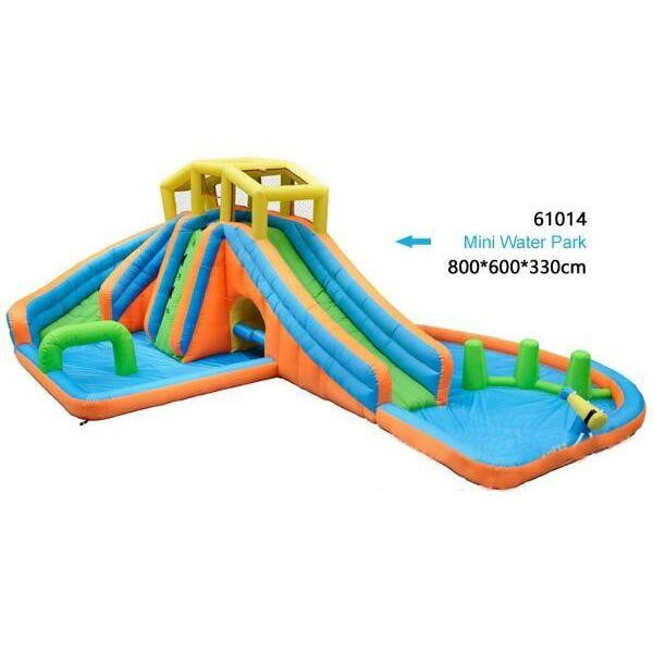 Crazy Inflatable Falls Inflatable Water Slider Park - rafplay