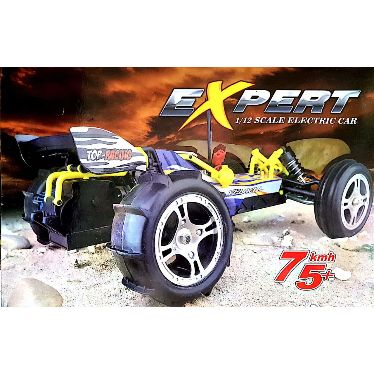 75 KMPH racing car by RAF