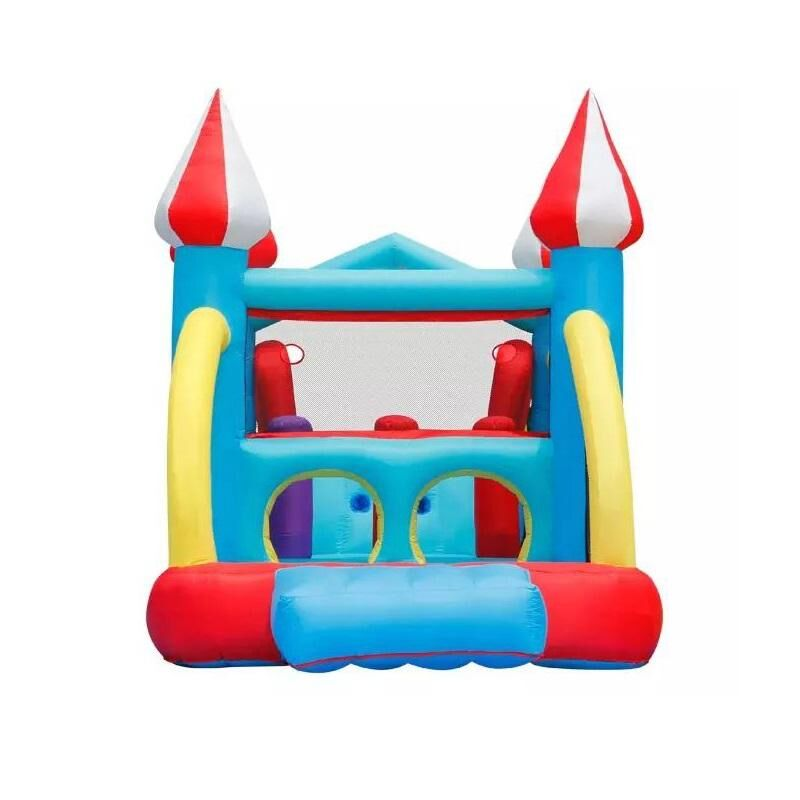 Inflatable Colorful Wizard Wonderland - Bounce & Slide - Dry - rafplay