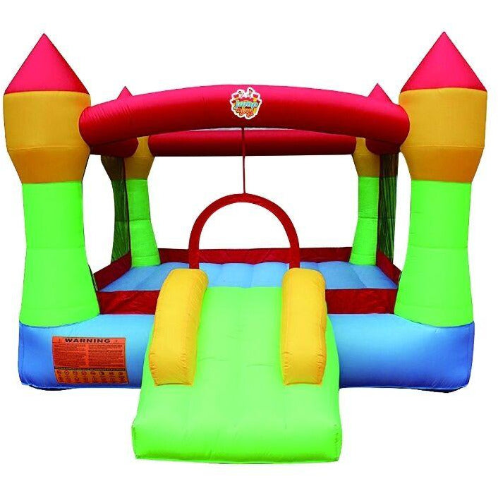 Inflatable JUMP N JOY BOUNCY  & JUMPY SLIDE CASTLE - rafplay