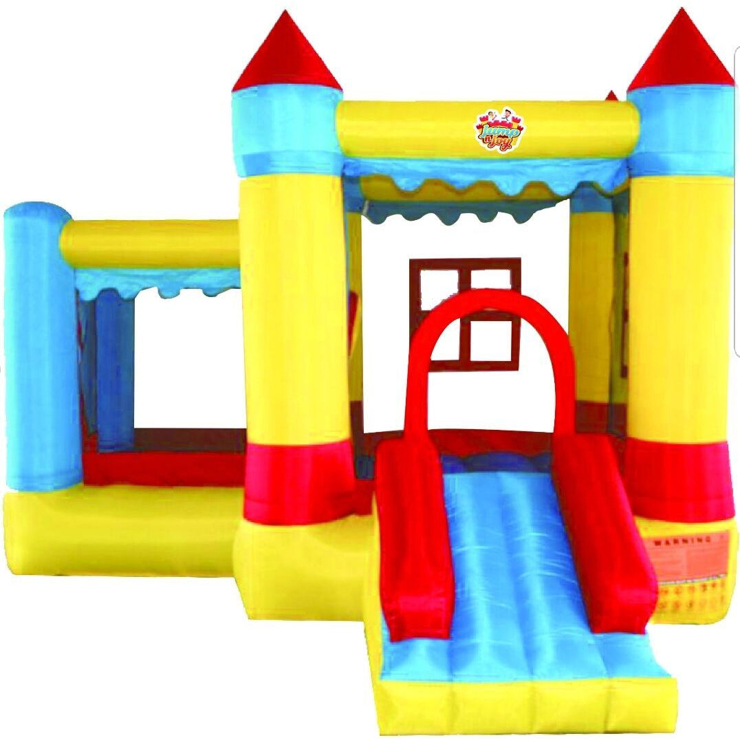 Inflatable JUMP N JOY SLIDER & BOUNCER to Bring Much Happiness To Your Children - rafplay