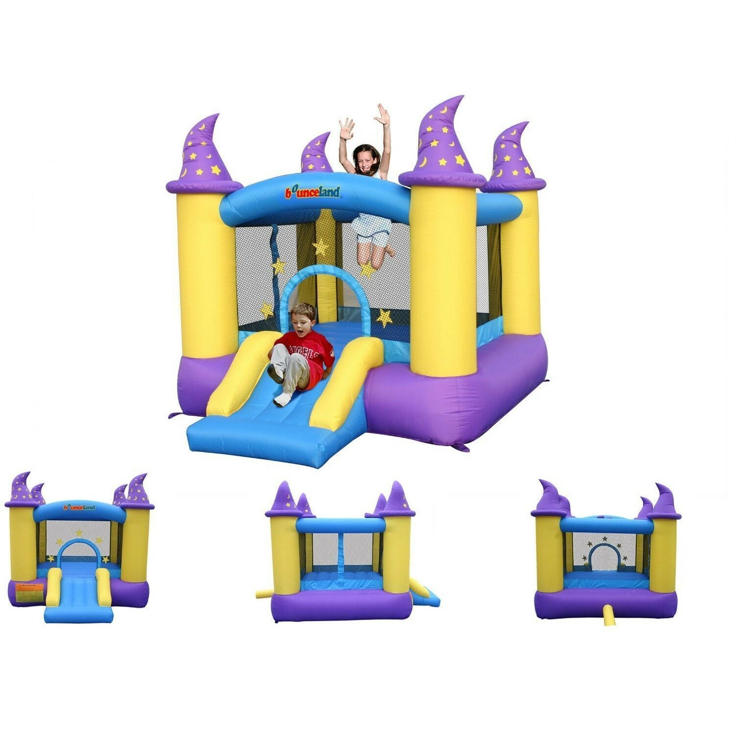Inflatable Magical Bouncing House - rafplay
