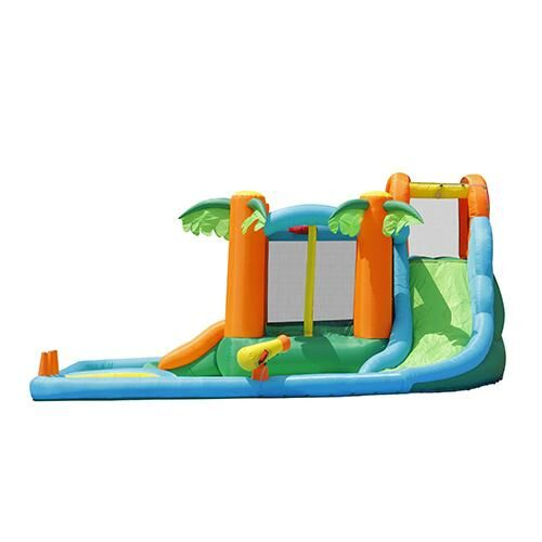 Inflatble Hydro Summer Escape Jump & Splash - Wet/Dry - rafplay