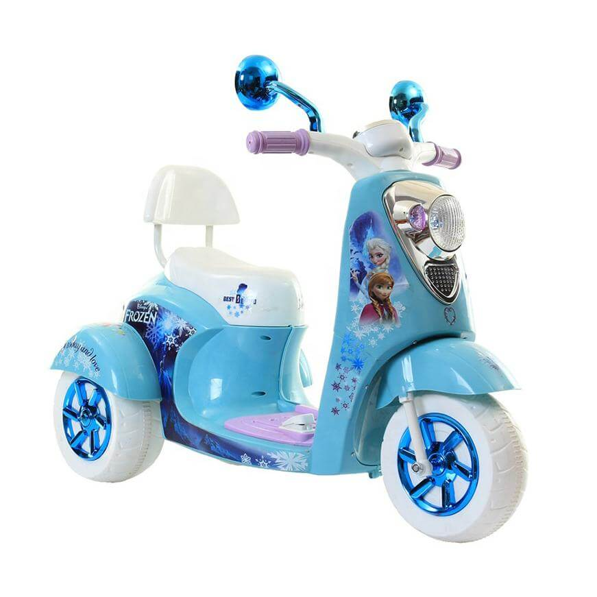 Raf Cute Princess 6v Frozen Motorbike for Lil girls