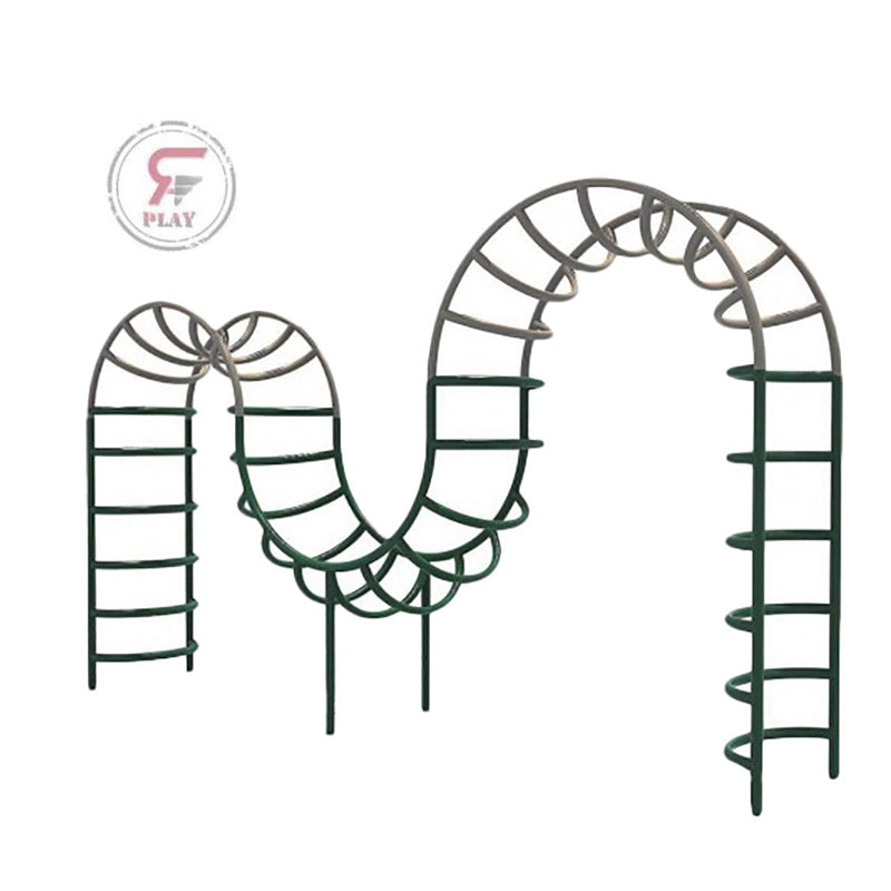 Raf Swinging Monkey Bars metal playset