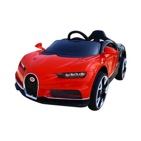 Raf 12 v  Bugatti styled Concept Electx sports car for kids - rafplay
