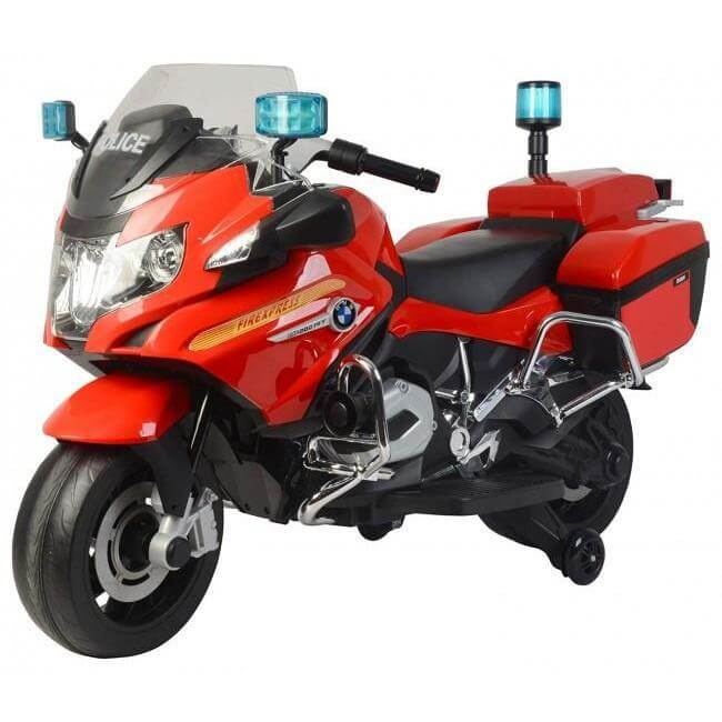 Raf  Ride on Licensed  Cop Patrol BMW  Motorcycle  With Siren for kids - rafplay